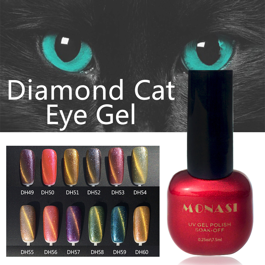 Aliexpress.com : Buy Diamond Cat Eye UV Gel Nail Polish Beauty ...