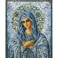 Diy Needlework diamante bordado 5D rodada imagem mosaico de Cristal de diamante da resina pintura diamante diy ponto cruz religiosa