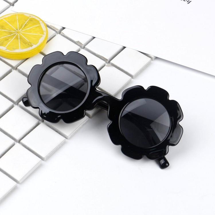 Cute Baby Boy Girl Flower Goggles Toddler Infant Soft Plastic UV400 Sunglasses