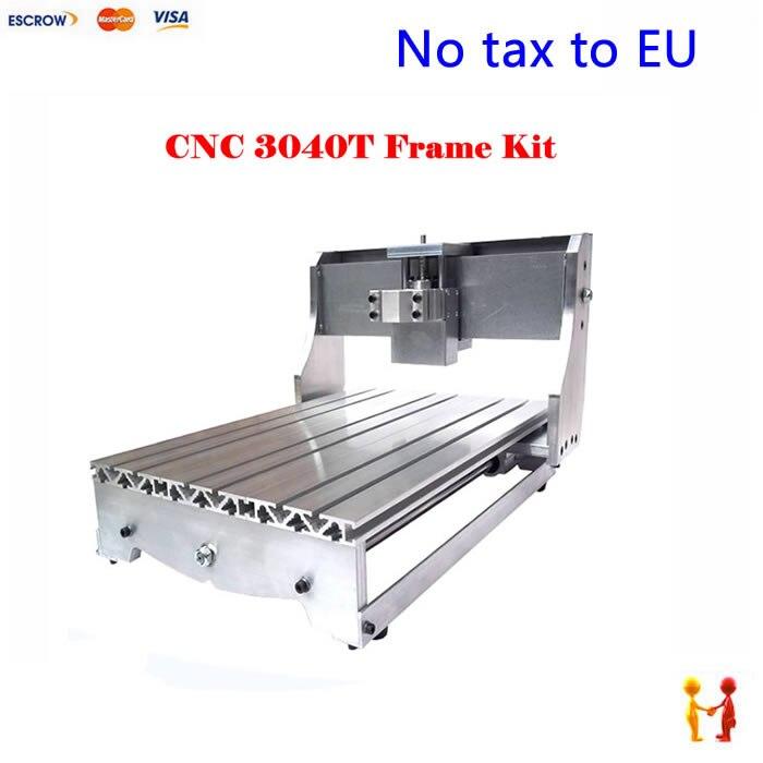 EU Freier Steuern!) DIY CNC rahmen 3040 T, trapezgewindespindel cnc ...