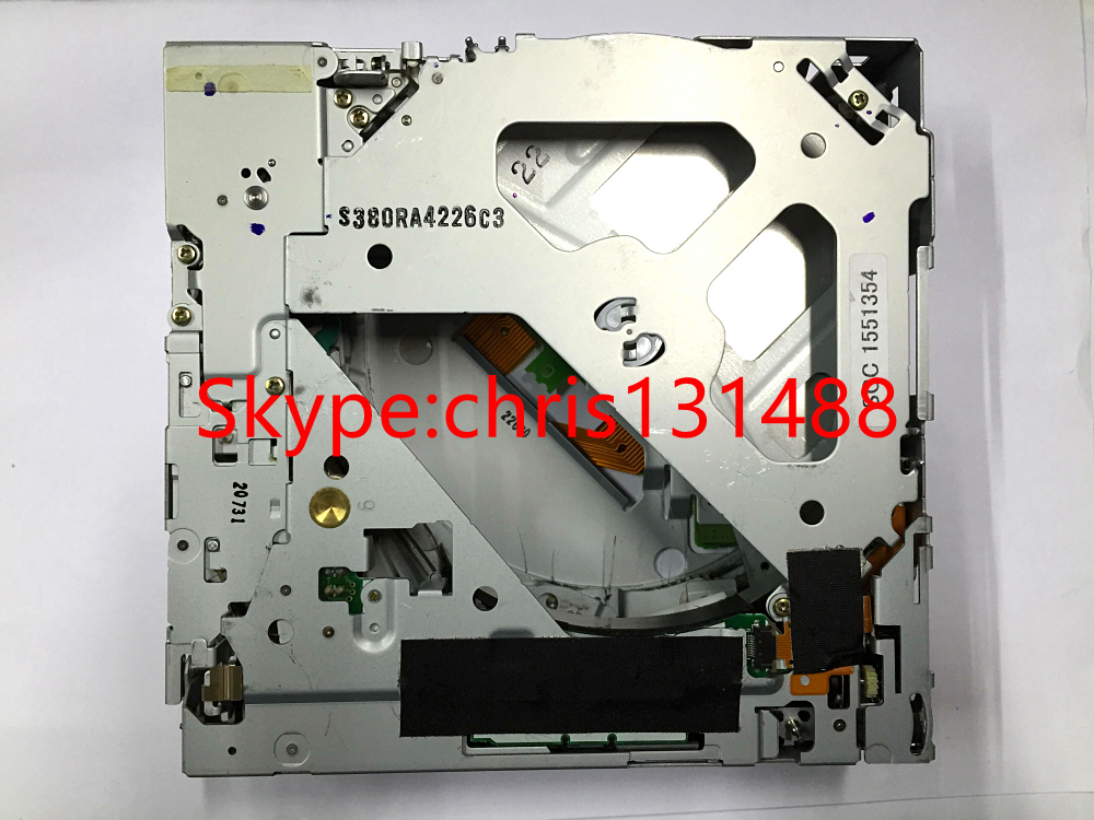 Free shipping Matsushita 6 CD changer 19Pin connector mechanism E 9291 2 E 9291 1 for