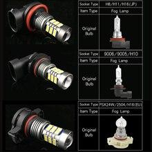 цена на 1pcs H8 H11 9006 HB4 H16 Car LED Lights Auto Bulb Lamp For Suzuki Swift Vitara SX4 Kizashi Wagon Jimny Grand Vitara Samurai