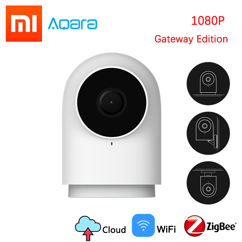 Original Genuine Xiaomi Aqara Smart Camera G2 1080P Gateway Edition Zigbee Smart Linkage Wifi Wireless Cloud Home Security 2019-in Smart Remote Control from Consumer Electronics    1