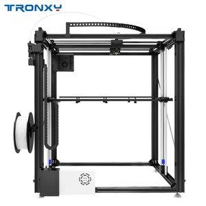Image 4 - Mais novo maior impressora 3d tronxy X5SA 500 cama de calor grande impressão tamanho 500*500mm kits diy com tela de toque sensor de nivelamento automático