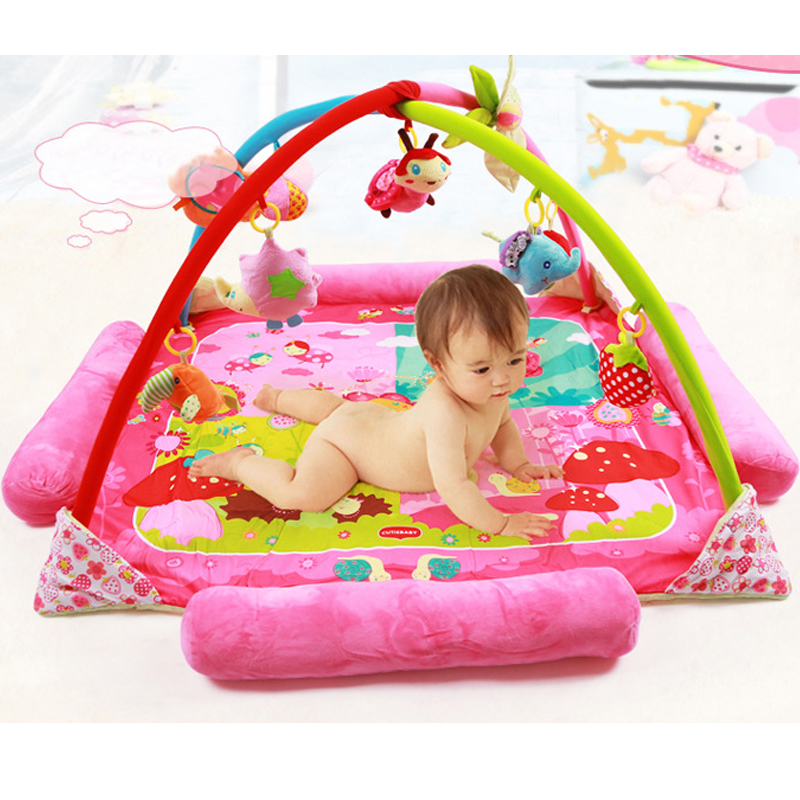 Baby Toy Rug: Baby Large Soft Play Mat Game Rug Educational Crawling
