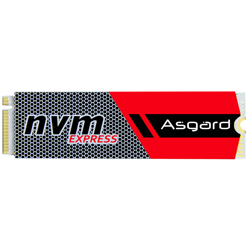 Venta superior Asgard 3D NAND 256GB 512 GB 1 TB M.2 NVMe pcie SSD disco duro interno para ordenador portátil de escritorio de alto rendimiento