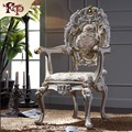 hand carved home furniture - solid wood royalty dining armchair   Free shipping