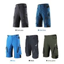 Lixada MTB велосипедные шорты, дышащие спортивные свободные шорты, Уличная Повседневная одежда для велоспорта и бега с карманом на молнии