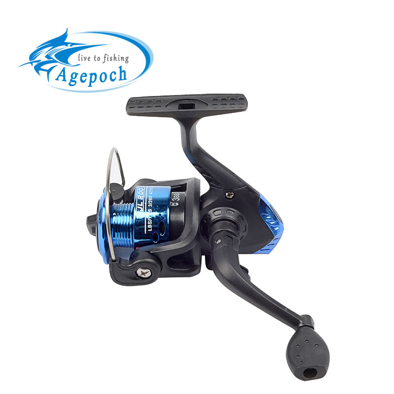 Agepoch 3bb spinning spin drag water pen mini small for Mini fishing reel