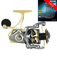 Angler Dream BUMBLEBEE Spinning Fishing Reel 2500 5000 Series 5.2:1 10BB Sea Fishing Reel Carp Fish Reels & Free Worm Hook