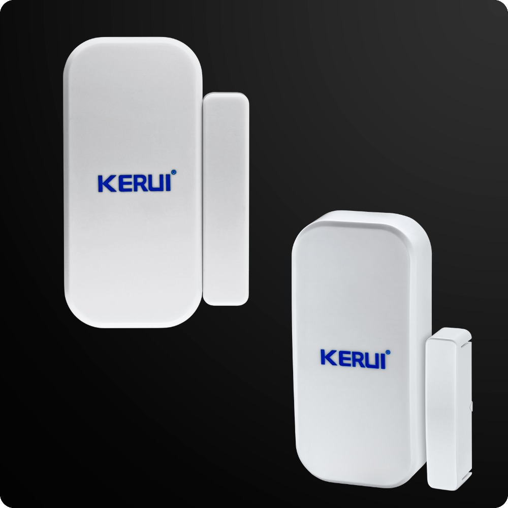 Image 4 - Wholesales KERUI W2 Wifi GSM PSTN Telephone Landline Home Alarm APP ISO 433MHz TFT Golor Screen RFID Disarm Arm Security Kit-in Alarm System Kits from Security & Protection