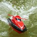 Nuevo Mini Control de Radio 2.4G 4CH RC Modelo de barco de pesca Barcos de Agua Regalos para Los Niños Envío Gratis venta al por mayor