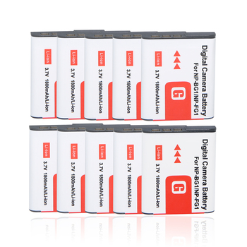 10*1800mah NP-BG1 NP BG1 NP-FG1 Battery For SONY Cyber-shot DSC-H3 DSC-H7 DSC-H9 DSC-H10 DSC-H20 DSC-H50 DSC-H55 DSC-H70 DSC-H90