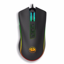 Redragon M711 COBRA Chroma Wired Gaming Mouse with 16.8 Million RGB Color Backlit 10,000 DPI 7 Programmable Buttons Optical LED