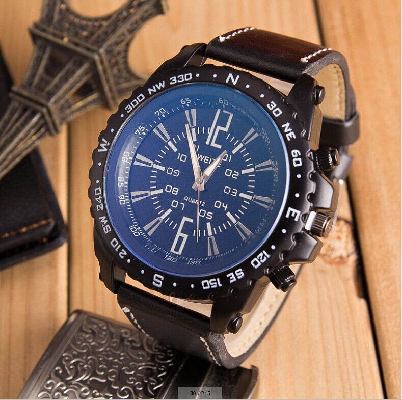 Hot Sale Men Casual Sport Quartz Watch Mens Watches Top Brand Luxury Quartz-Watch Leather Strap Military Watch Wrist Male Clock mens watch top luxury brand fashion hollow clock male casual sport wristwatch men pirate skull style quartz watch reloj homber
