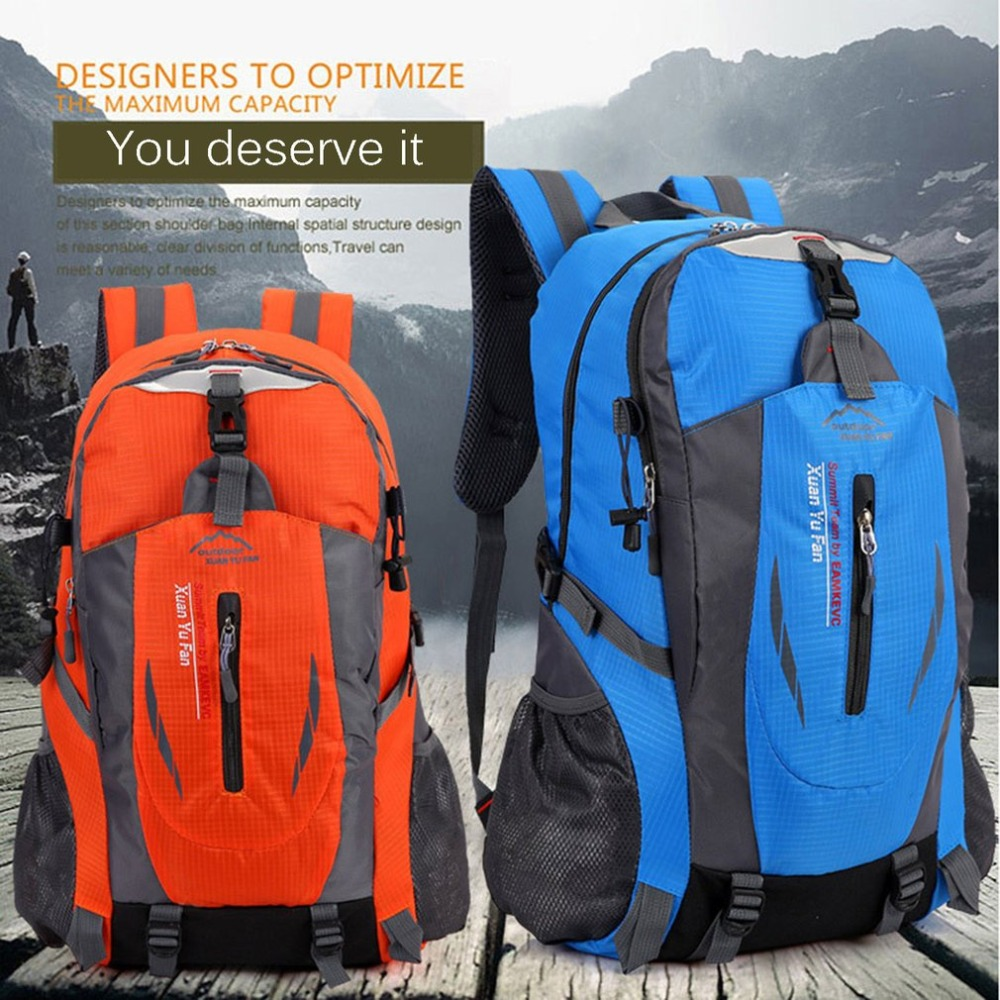 OUTAD Sport Climbing Camping Biking Hiking Bag Mountaineering Day Pack  Lightweight Travel Backpack Waterproof Outdoor Rucksack-in Climbing Bags  from Sports ... ca994fcc5a15f