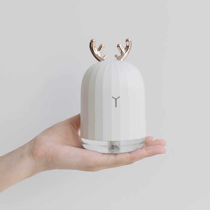 220 мл ультразвуковой увлажнитель воздуха, арома, эфирные масла, диффузор для дома, Автомобильный увлажнитель воздуха, USB Fogger, тумана, светодиодный ночник