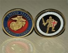 U.S. Marine Corps - Armor of God USMC Challenge Coin free shipping 3pcs/lot