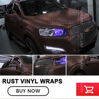 OPLARE Vinyl Stickers Car Styling Waterproof Sunscreen Do Old Car Rust Security Sticker Rust Body Changing Color