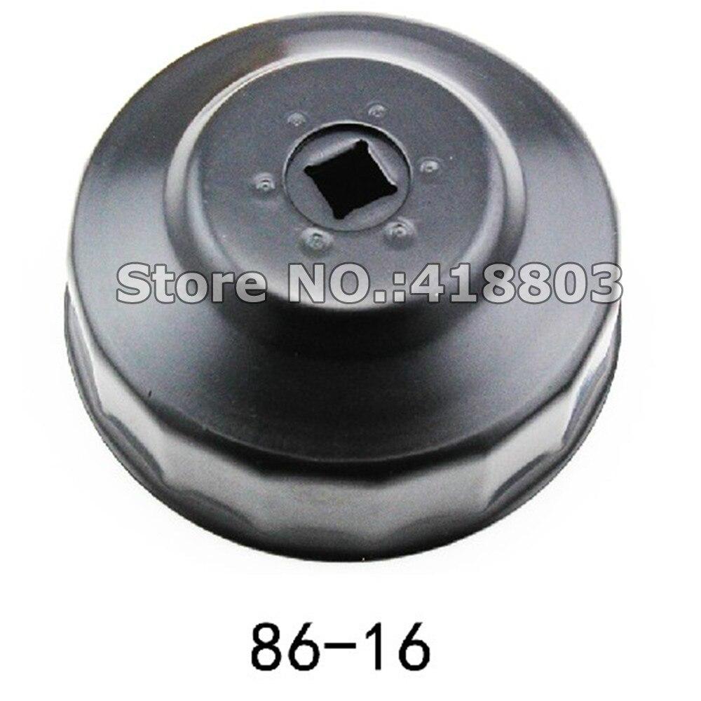 86mm/16 P Filtre À Huile Clé Diamètre 86mm 16 Flûtes Pour BMW