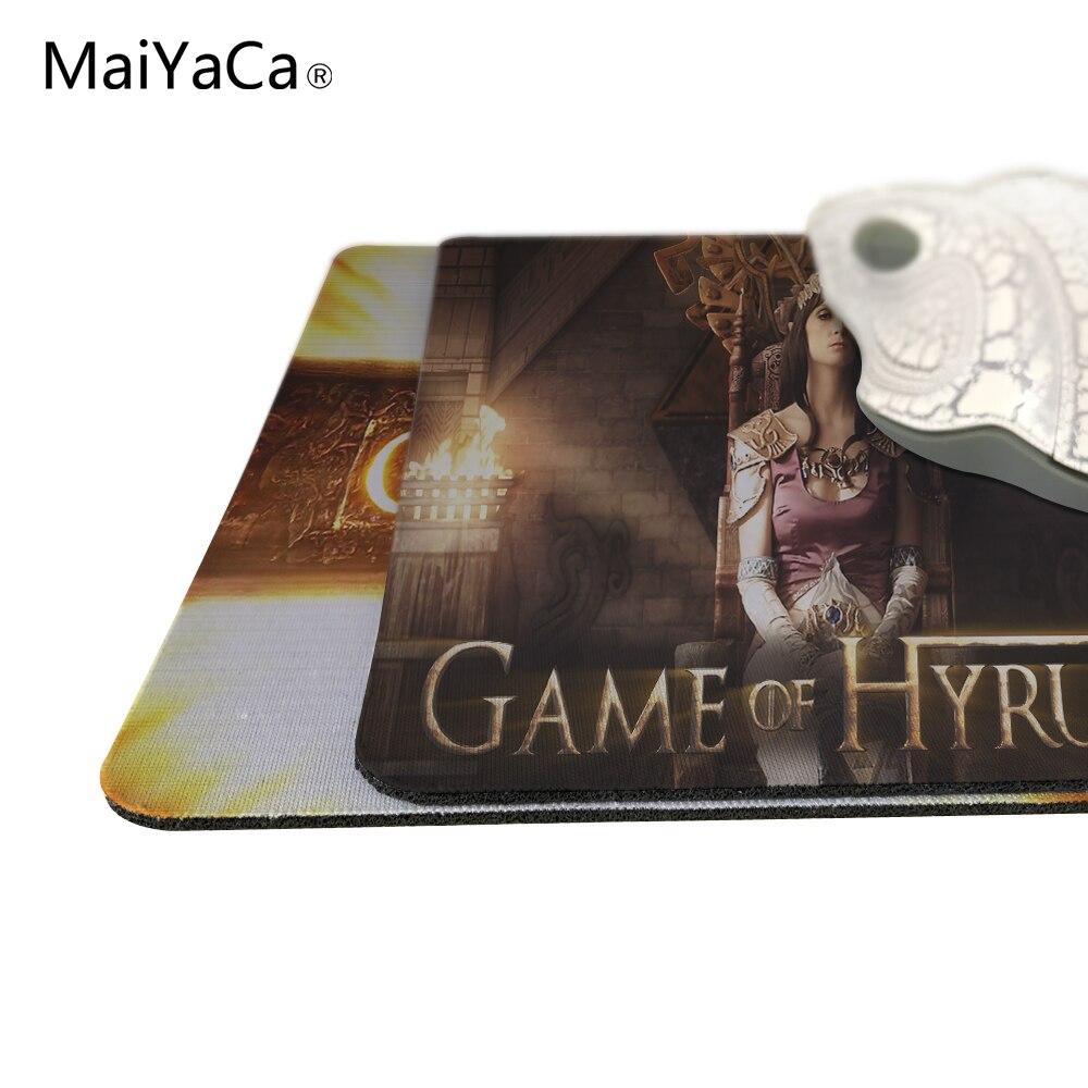 Juego de tronos MaiYaCa Mouse Pad Mouse Mat tamaño 18 * 22 cm y 25 * - Periféricos de la computadora - foto 2