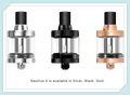 Aspire Nautilus X features quick & clean top fill design, 2 ml capacity material stainless steel