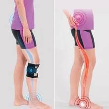 A pedra magnética da terapia alivia a tensão acupressão cinta de joelho do nervo ciático para a dor nas costas para saudável