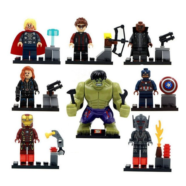 Marvel Avengers Action Figures Legoings
