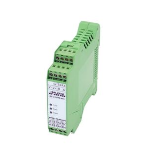 Image 2 - 485 Hub 4 ports Isolation optique 1 voie RS232 à 4 voies RS485 Module de Type Rail de moyeu de qualité industrielle