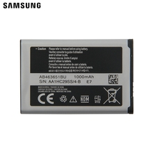 Samsung Original Battery AB463651BU For Samsung C3370 C3200 C3518 J808 F339 S5296 L708E S5610 W559 S5620I S5630C S5560C C3322 hip hop patchwork chains pants women elastic high waist black track pants capris embroidery letter trousers female streetwear