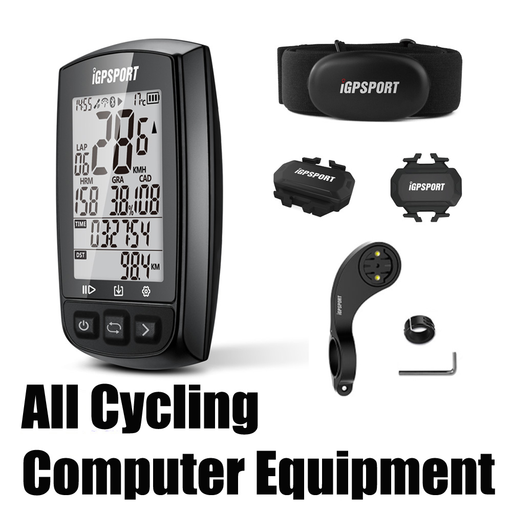 All Cycling Computer Speedometer Equipments GPS IGPSPORT IGS618 Igs10 IGS50E MTB Road Bike Computer Sport Mileometer for Cyclist
