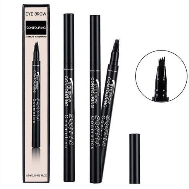 4 Head Makeup Eyebrow Enhancers 5 Colors High-end Automatic Matte Eyebrow Pencil Waterproof Tattoo Pen Long-lasting Cosmetics 4