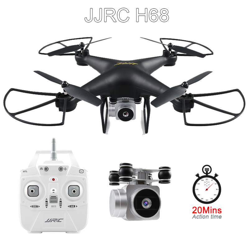 JJRC H68 RC Drone with Camera 720P Altitude Hold Quadrocopter Headless RC Helicopter Quadcopter with Camera 20Mins Long Fly Time Квадрокоптер