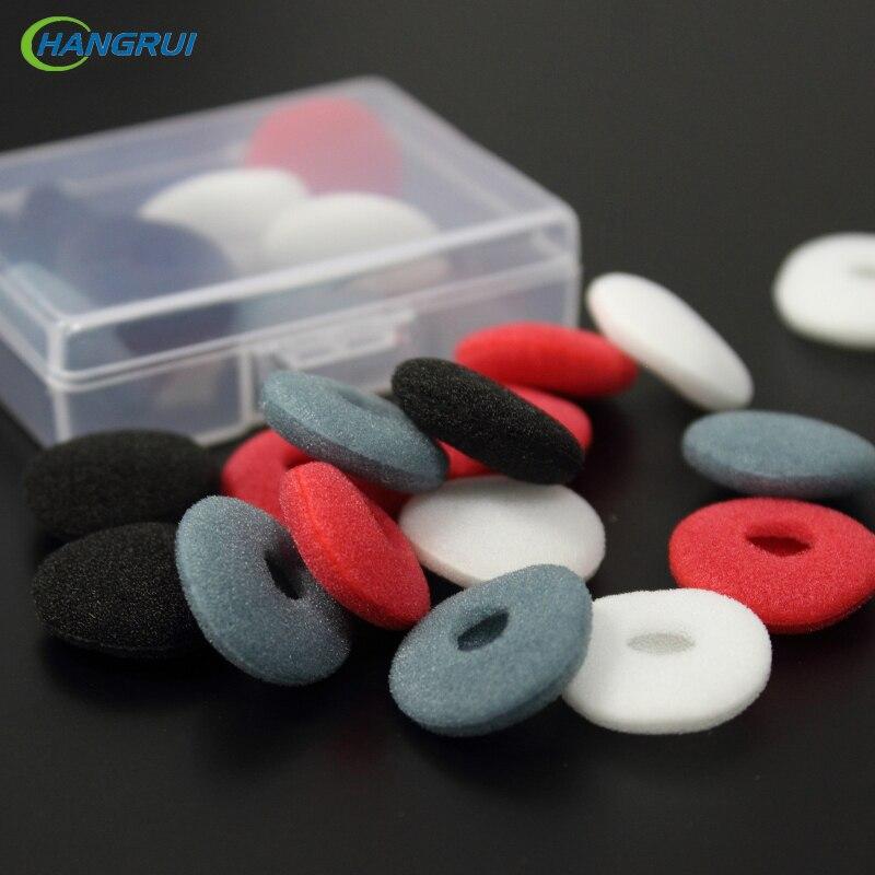 HANGRUI 10 páros puha hab fülhallgató fül tippek pamut szivacs fülpárna fülhallgatóhoz füldugó fülhallgató VE lapos fejdugó fülhallgató
