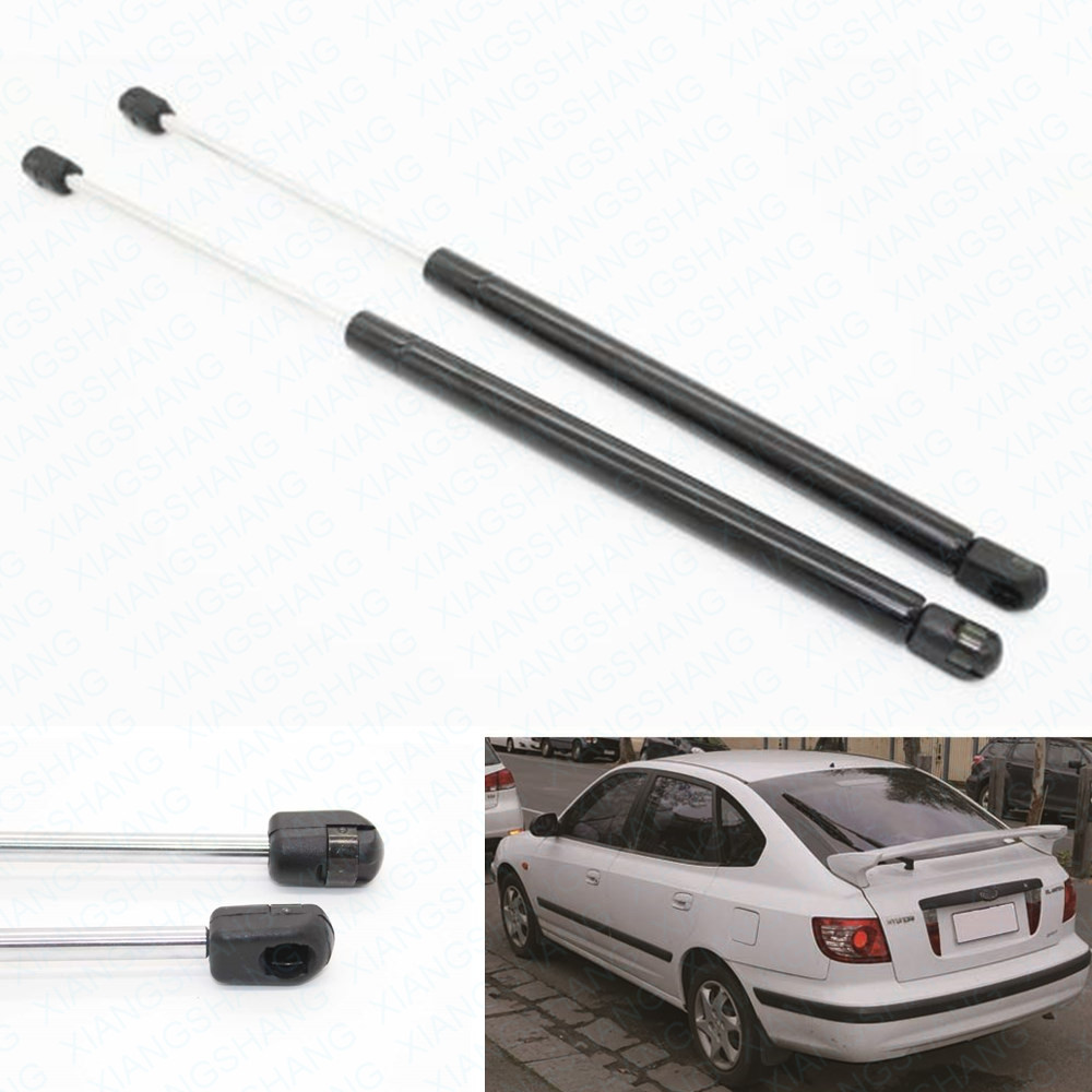 2pcs Auto Truck Tailgate Boot Gas Struts Shock Struts Damper Lift Supports for Hyundai Elantra Hatchback 2002-2005 2006 485MM