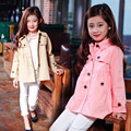 2017 Spring Autumn Girls Jacket Children's Clothing Girl Trench Coat Girls Outer Wear Kids Jacket Girl Coats and Jackets