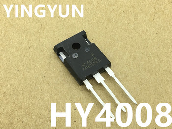 10PCS/LOT   HY4008 HY4008W   TO-247  80V 200A   instead of IRFP2907 field effect transistor  New original apt5017bvr to 247
