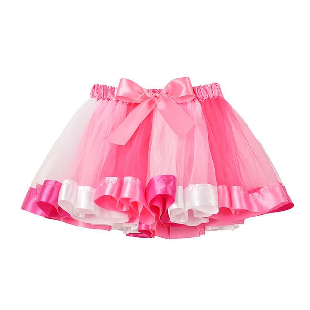 Baby Girl Mini Rainbow Tutu Skirt