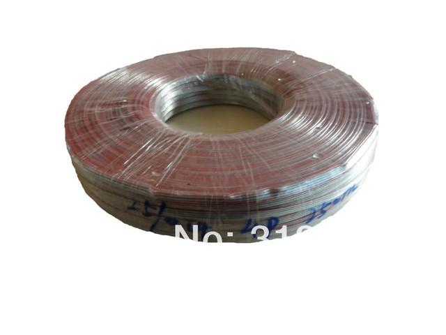 50 mt/los 4pin 18AWG (25 stücke 0,14 drähte) transparentes kabel für ...