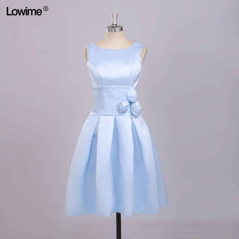 In Stock Free Shipping   Dress   Elegant Scoop A-Line Knee Length   Prom     Dresses   2018 Cheap vestido de festa