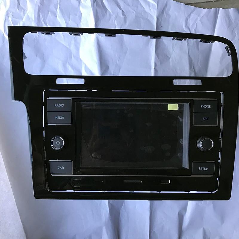 Carplay MQB 6.5 MIB Voiture Radio + Cadre Pour Passat B8 De Golf 7 5GG 035 280D 5GG035280D 5GG 035 280 D & 5GG 819 728 T 5GG 819 728 T