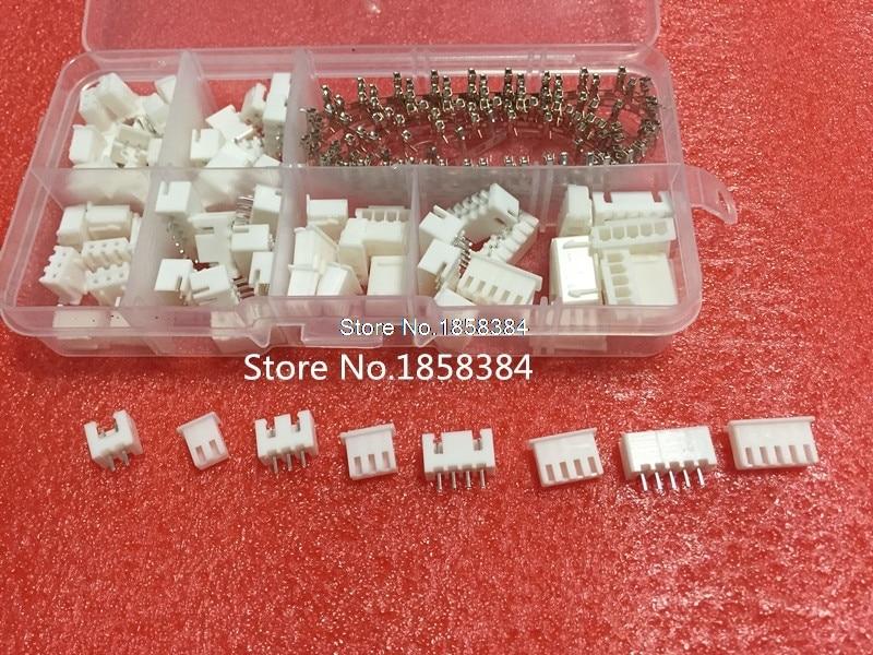 Housing 230Pcs 2p 3p 4p 2.54mm Pitch Terminal Pin Header Connector Wire Conn