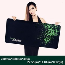 Azer Goliathus 700*300*3mm Locking Edge Large Gaming Mouse pad Control/Speed Version Game Mouse Mat Mousepad for Dota2 CS Lol
