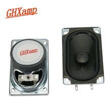 Ghxamp新しい8オーム15ワットテレビスピーカーハイエンドフルレンジスピーカーゴムコーンスピーカー長方形50*90ミリメートル1 pairs