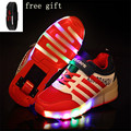 Shoe De Rodinha Roller Skate Sneakers with Wheels Children Fashion Girls Boys LED Light Roller Skate Shoes