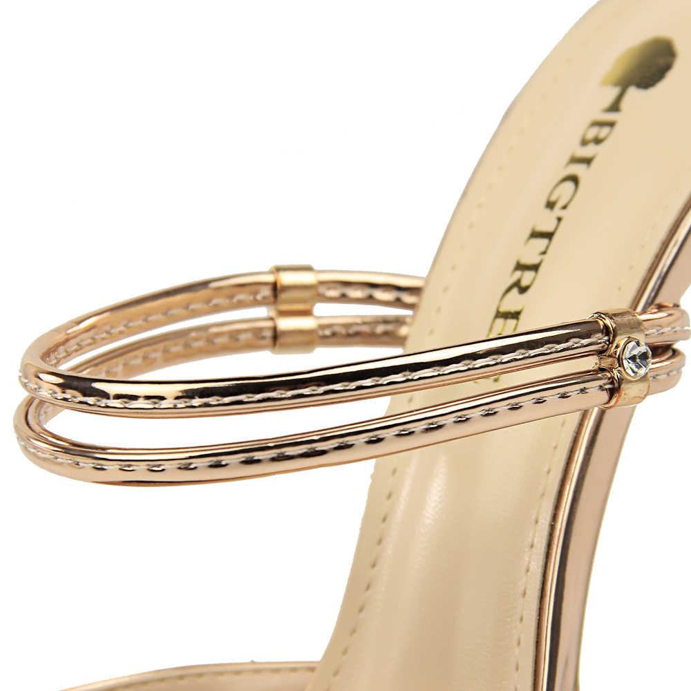 38055b39bb ... BIGTREE 3 Way Wear Women Metallic High Heel Pointy Toe Mule Slides  Stiletto Slingback Pumps Dress ...