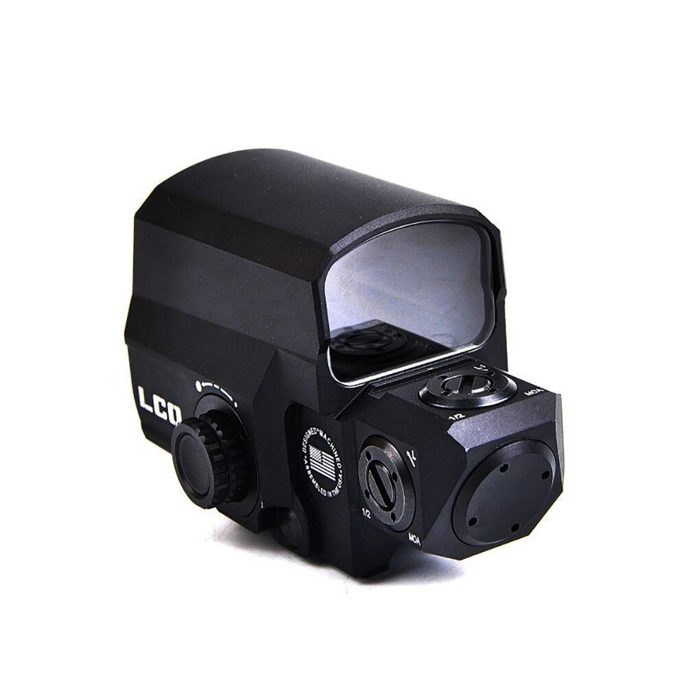 Lunette de visée tactique à visée holographique à visée rouge LP LCO compatible avec les portées de chasse à montage sur Rail de 20mm