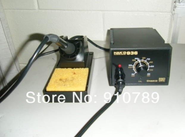 110V HAKKO ESD safe  936 Soldering Station+ 907 soldering handle+ heating element HAKKO936 /welding soldering machine  цены