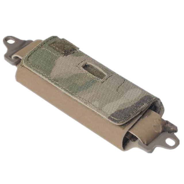 Helmet balancing bags (with five weight blocks) for Helmet Equipped with ARC Rails black DE multicam 5