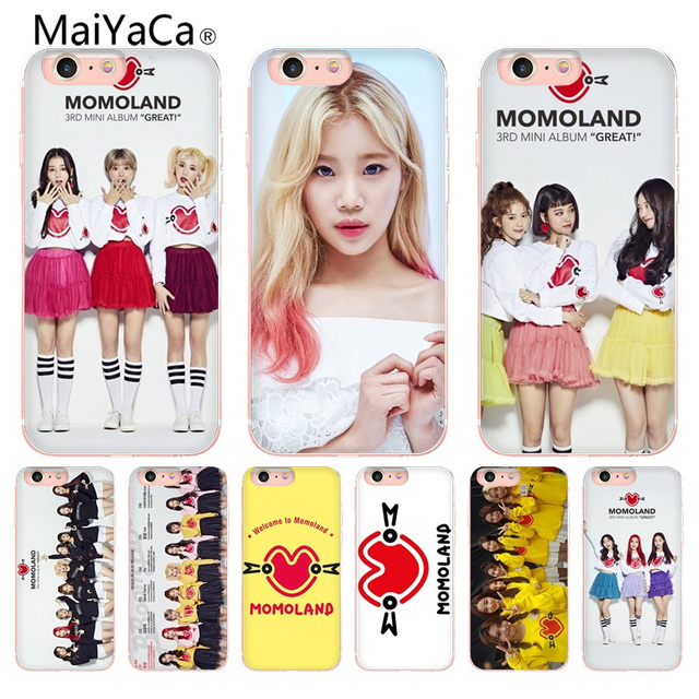 Maiyaca K Pop Momoland Coque Shell Phone Case For Apple Iphone 8 7 6